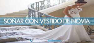 Soñar con vestidos de novia