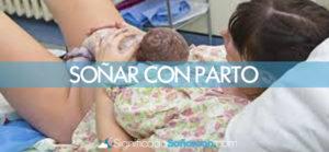 Soñar con parto o dar a luz