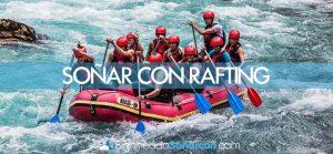 Soñar con rafting